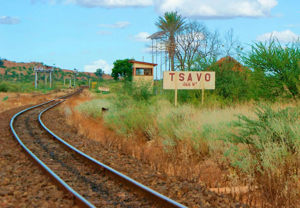 Деление Тсаво на две части