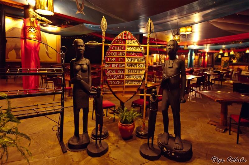 Найроби, ресторан Сафари Парк Отеля