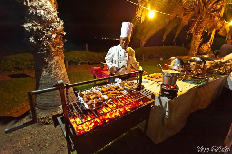 Кенийский ужин на природе