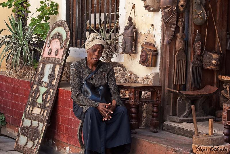 Антикварная лавка в Момбасе
