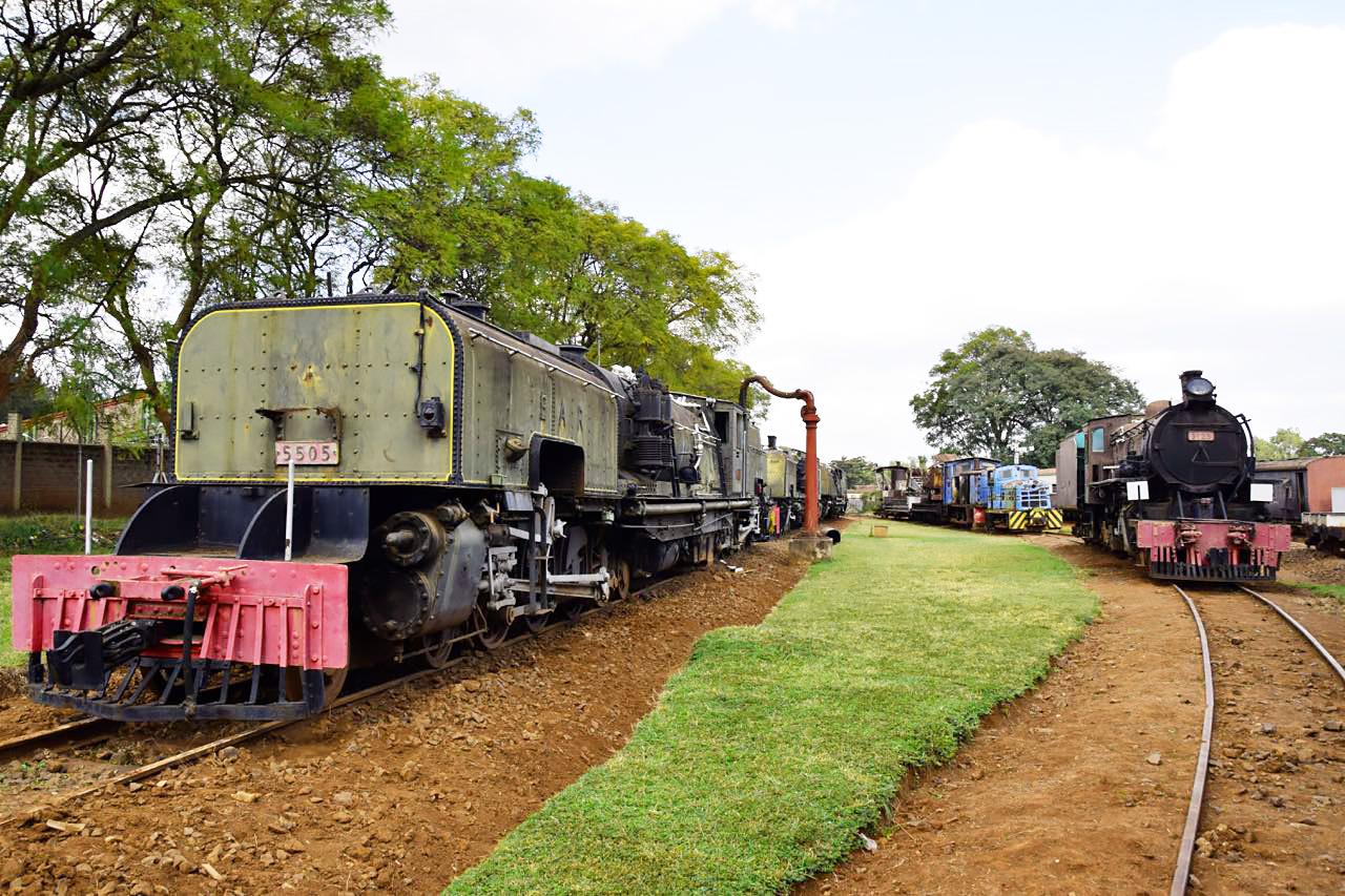 Экспозиция железнодорожного музея