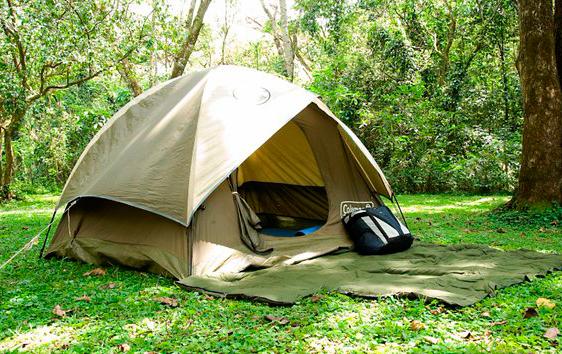 Тент. Национальный парк в Кении