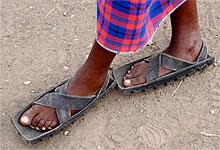 Сандалии масаев - мужчин