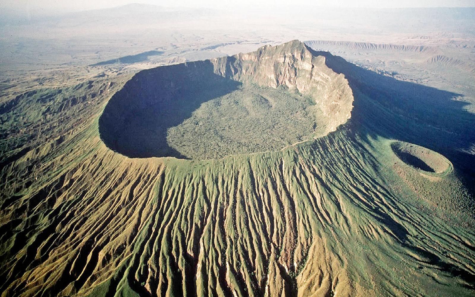 Кратер Мененгай, Кения