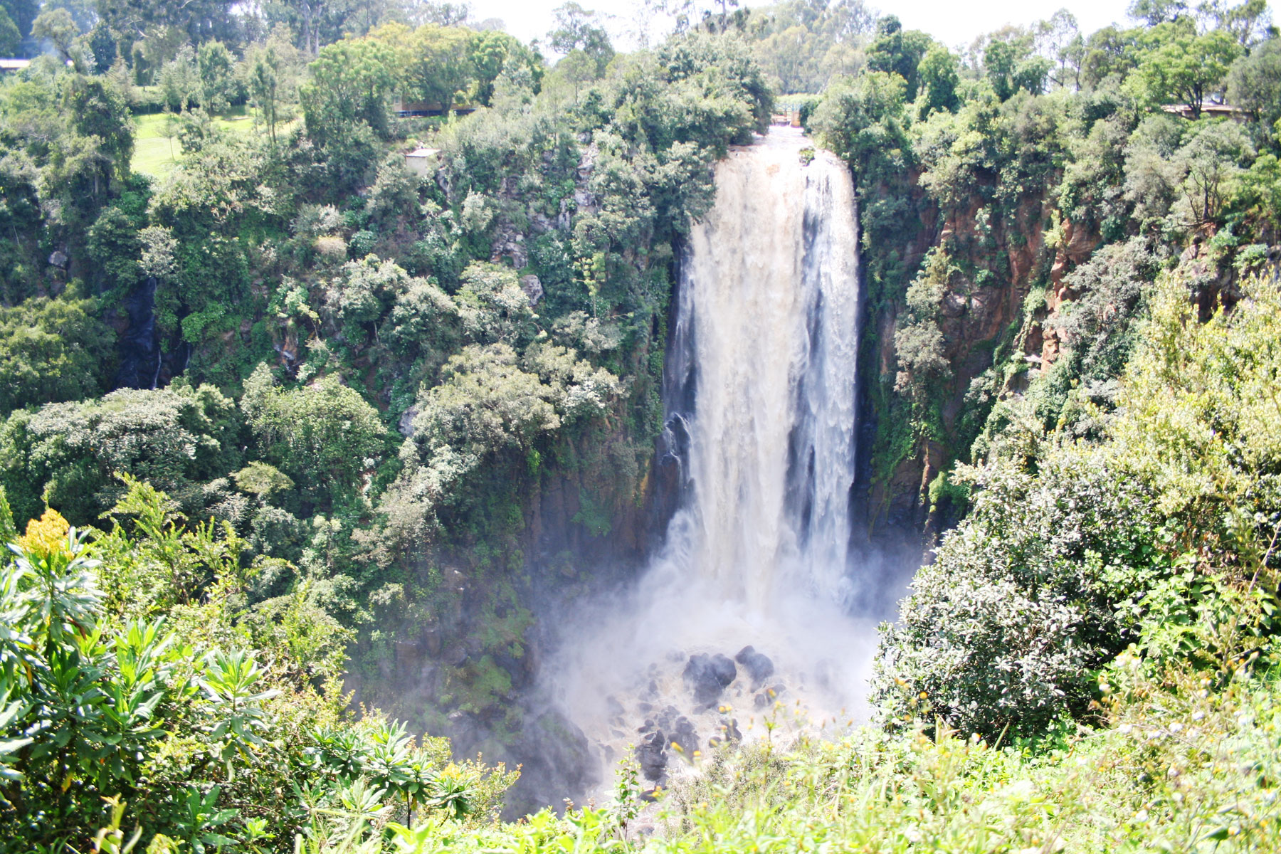 Водопад Томсона, Накуру, Кения