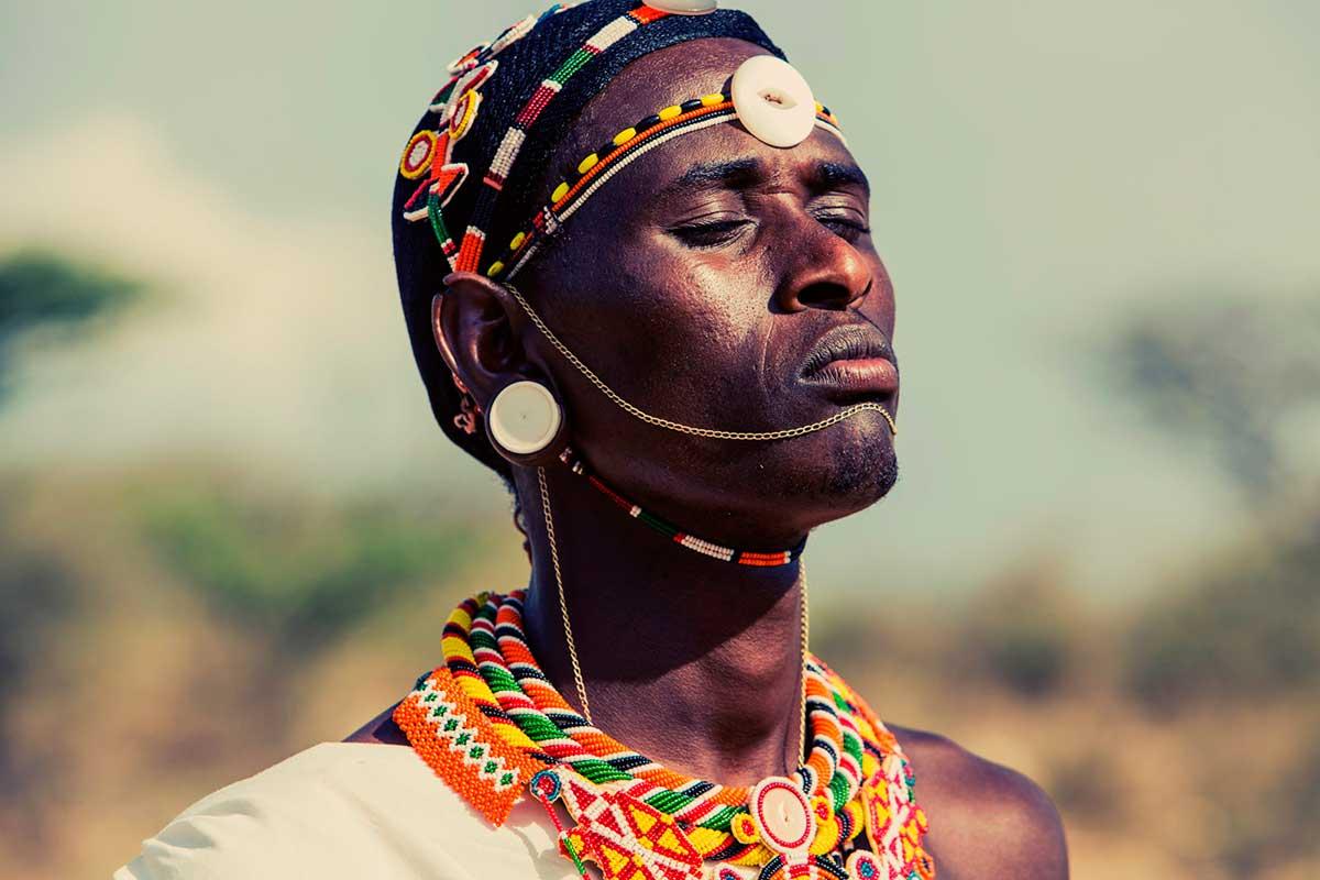 Мужчина из племени самбуру