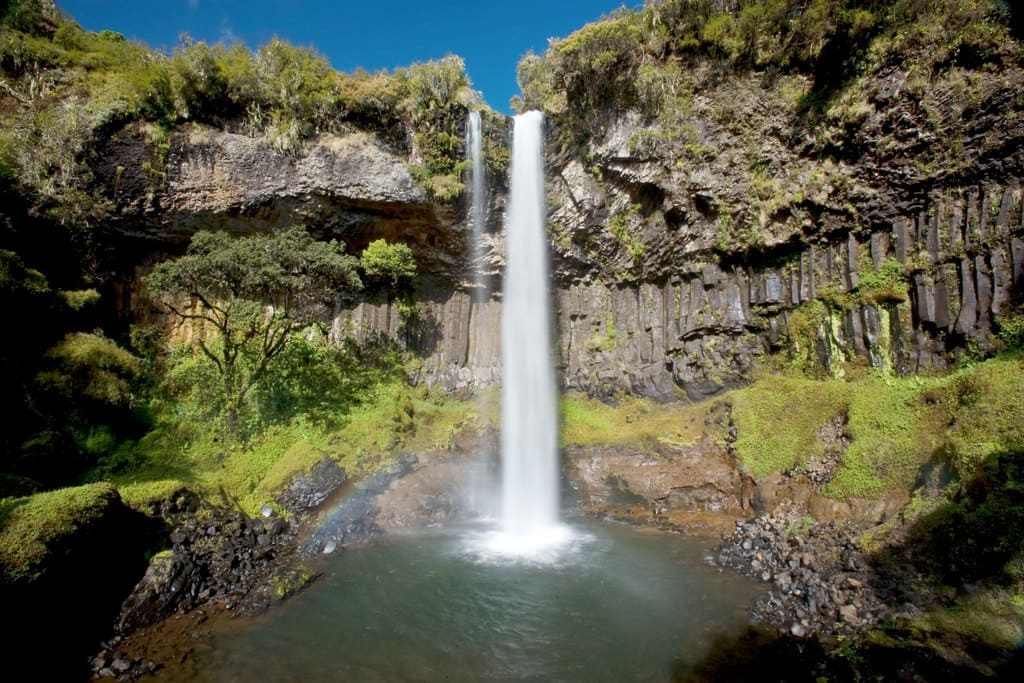 Водопады Абердаре, Кения
