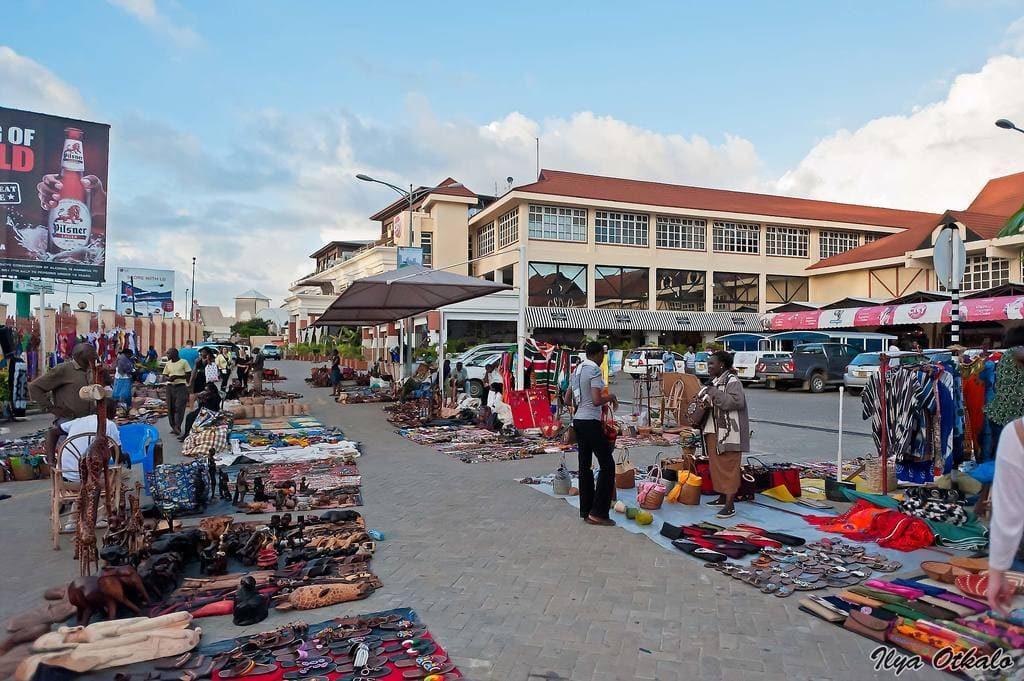 Момбаса торговый центр