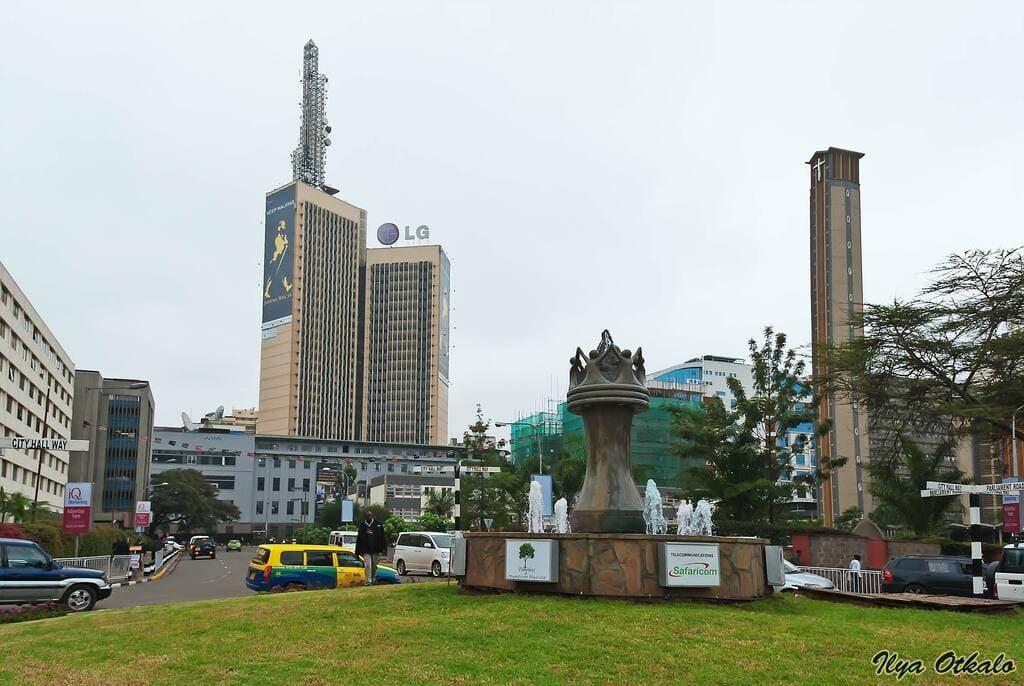 Найроби центр города