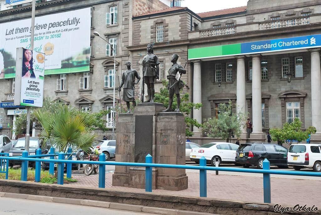 Найроби памятник