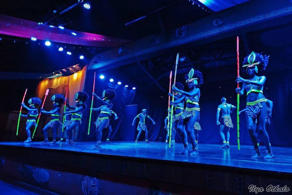 Найроби африканское шоу