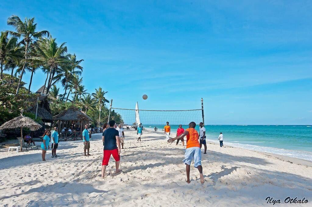 Пляжи Кении