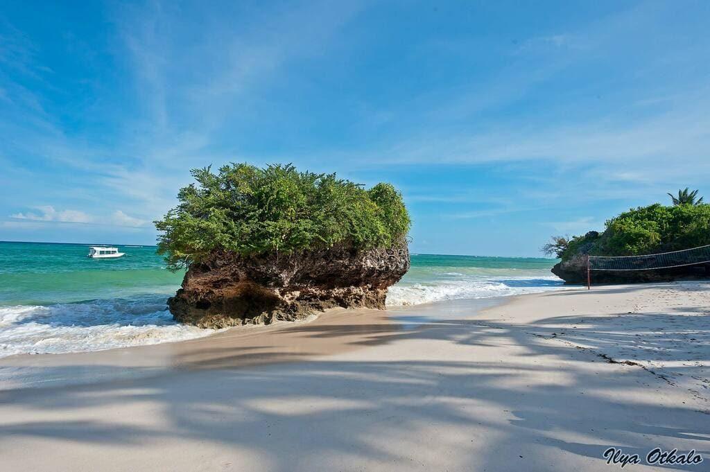 Африканский пляж в Кении