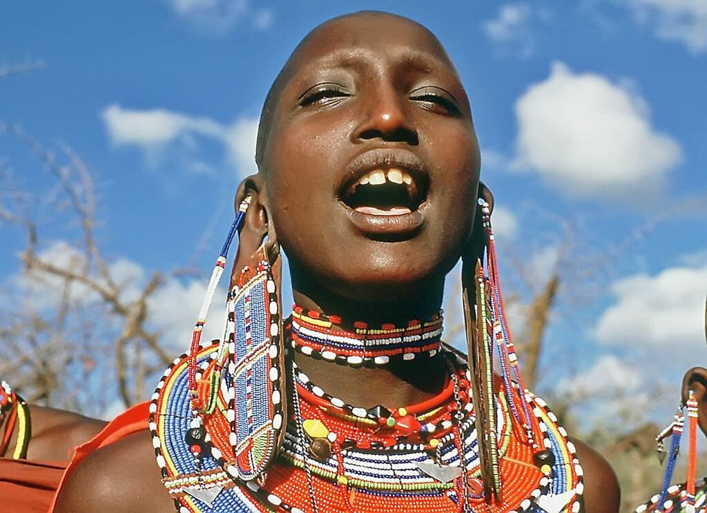Масаи Кения