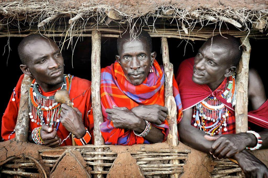 Племя Масаи, Кения