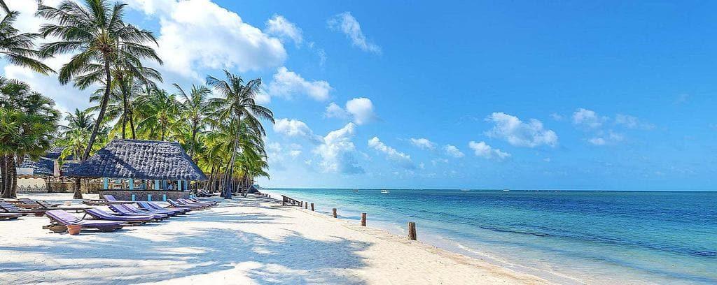 Кения пляж Африка