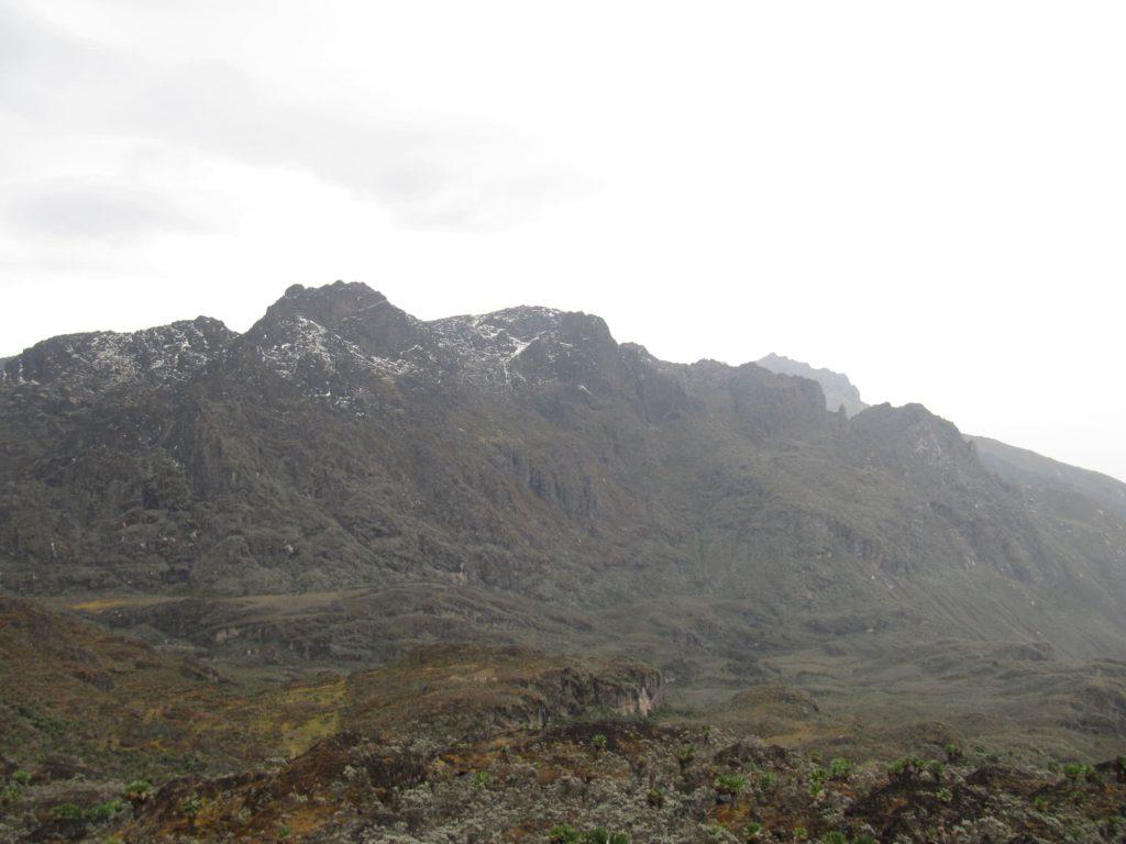 гора Луиджи ди Савойя Африка