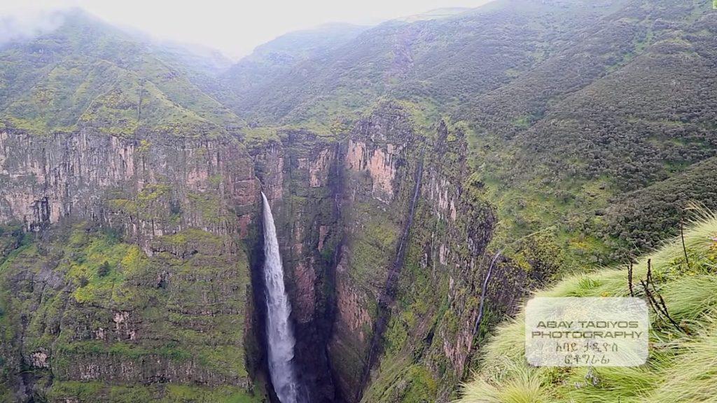 гора Рас Джен в Африке
