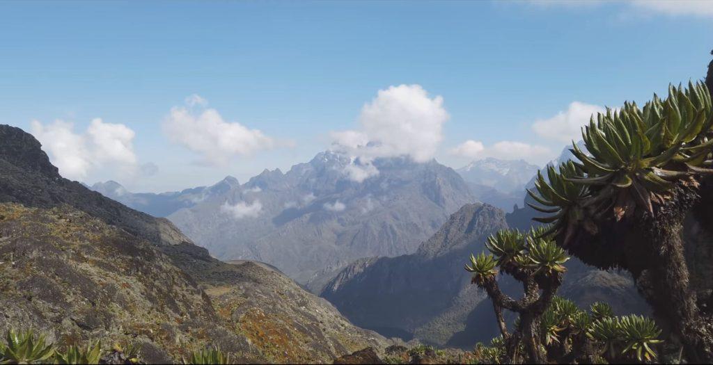 гора Спик в Африке