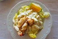 <p>Еда в Кении. Салат с крабом</p>