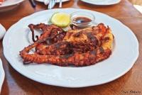 <p>Кения. Осьминог, ресторан отеля Blue Marlin.</p>