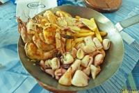 <p>Блюдо сетевого ресторана Ocean Basket</p>