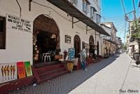 <p>Кения, Момбаса. Туристическая улица</p>