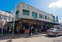 <p>Кения, Момбаса. Улицы центра города</p>