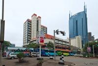 <p>Кения, Найроби. Центральные улицы</p>