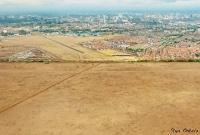 <p>Вид на Найроби с самолета</p>