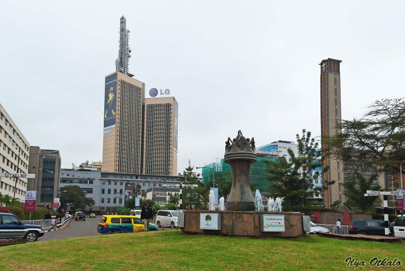 Сити Сквер - центральная площадь Найроби