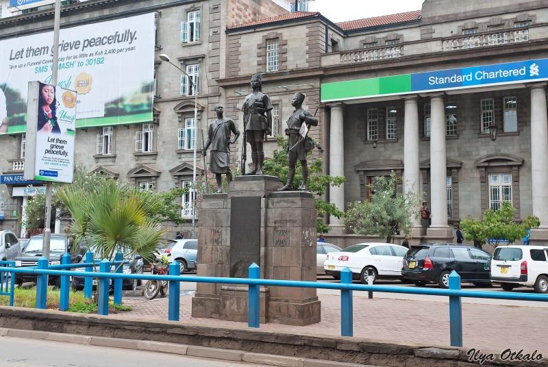 Памятник жертвам войны в Найроби, Кения