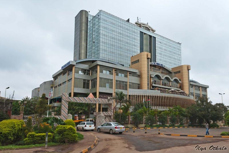 Отель недалеко от аэропорта в Найроби, Кения