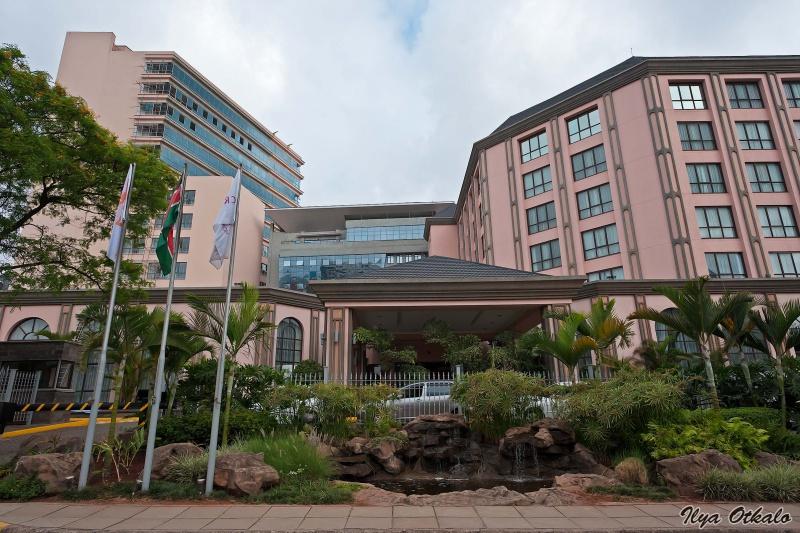 Отель Кроун Плаза, Найроби, Кения