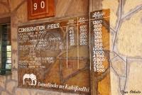 <p>Цены на въезд в парк Тсаво</p>