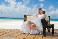 <p>Кения, свадьба на берегу океана. Красота!</p>
