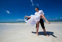 <p>Кения, свадьба на берегу океана. Танго</p>