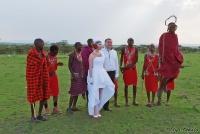<p>Кения, свадьба по обрядам масаев. Прыжки</p>