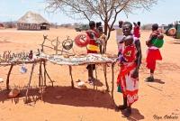 <p>Кения, племя Самбуру. Сувениры.</p>