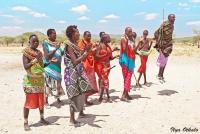 <p>Кения, племя Самбуру. Традиционные танцы.</p>