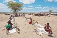 <p>Кения, базарчик в деревне Самбуру.</p>