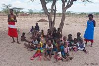 <p>Кения, племя Самбуру. Дети.</p>