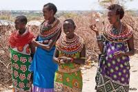 <p>Кения, женщины племени Самбуру.</p>