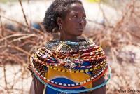 <p>Кения, женщина племени Самбуру.</p>