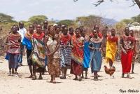 <p>Кения, племя Самбуру. Праздник.</p>
