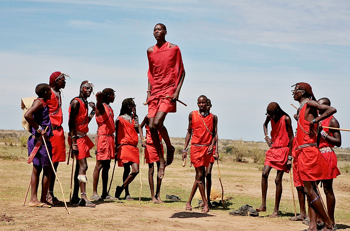 the maasai tribe of africa