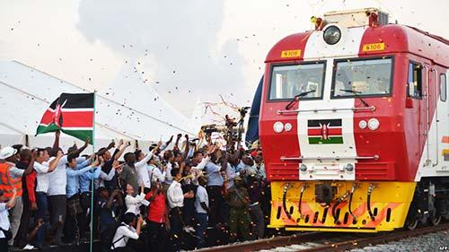 Новая железная дорога в Кении